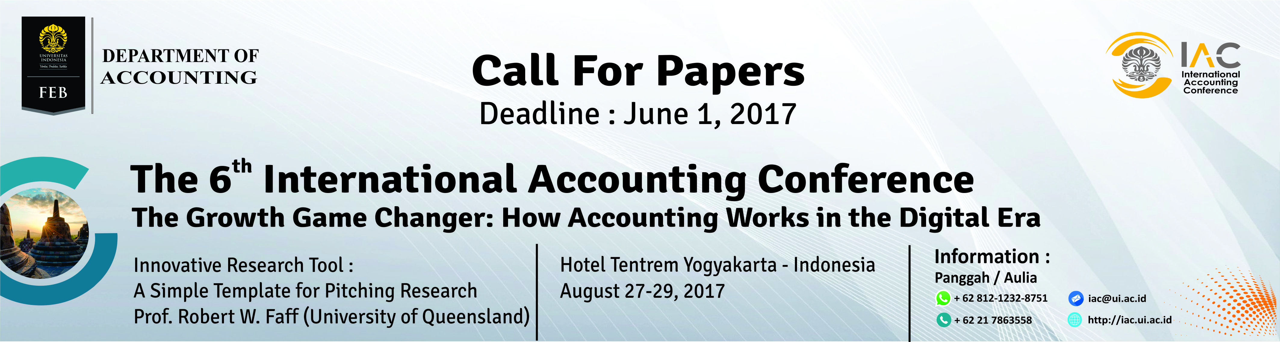 The 6th International Accounting Conference