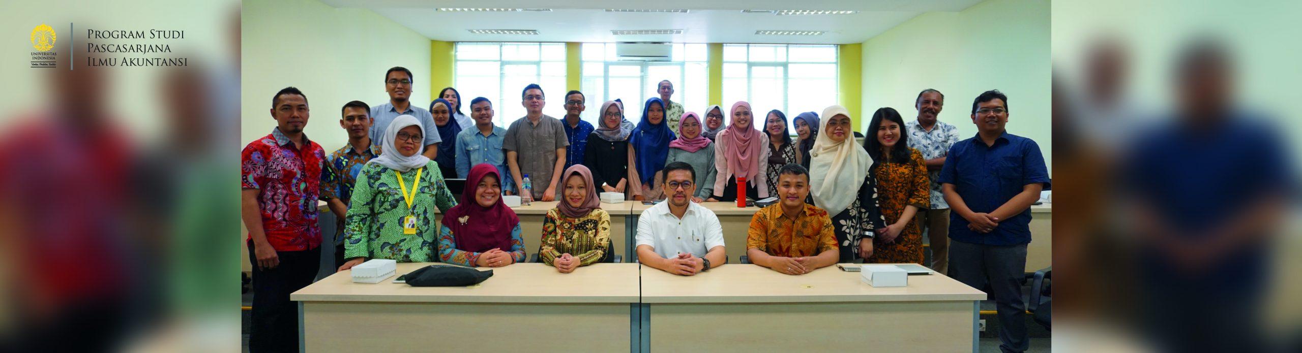 Penyambutan Mahasiswa Baru S2 Semester Genap TA 2019/2020